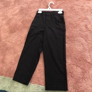 Boys black dress pants size 7